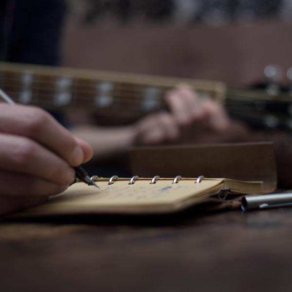 Songwriting in den Elevate Studios